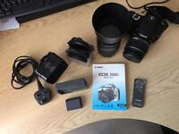 Canon EOS 350 D DSLR Camera Kit with Lens, Filters, Remote & Gadget Bag *** PRICE REDUCED ***