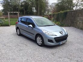 Best Value Peugeot 207 SW - 5 Seater Small Family Estate Car available