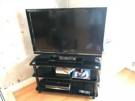 Sony Bravia TV with unit