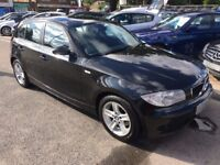 2006/56 BMW 120D ES,5 DOOR,BLACK,STUNNING LOOKS,DRIVES WELL,GREAT ECONOMY