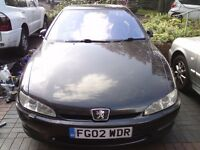 2002 3.0 V6 AUTO PEUGEOT 406 COUPE, BLACK, MOT APRIL 2018 E**Y ITEM 262960896896