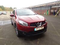 NISSAN QASHQAI+2 1.6 DCI TEKNA 5DR 4WD [START STOP] (red) 2013