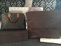 Genuine Louis Vuitton Speedy 30 Monogram bag