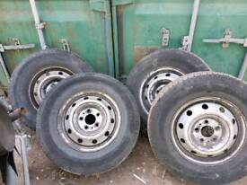 Iveco daily spare wheel