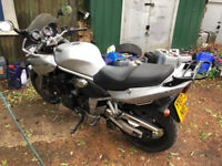 Suzuki GSF 1200S Bandit 2001 long mot fully serviced recent tyres & brakes ready to go £1450ono