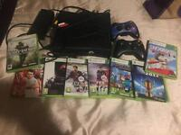 Xbox 360 bundle with 8 games!