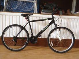 "Men's mountainbike - refurbished 20"" Apollo Slant - 18-speed, front suspension"