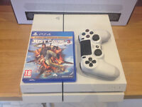 PS4 white 500gb +game