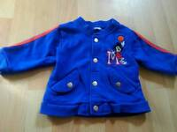 Disney Mickey Mouse Jacket 0-3 Months.