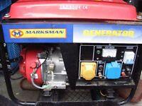 Marksman 3000cl petrol generator