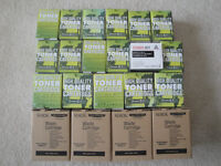 Xerox Phaser brand new 6110/6110MFP toner and waste cartridges
