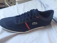 Lacoste trainers size 9
