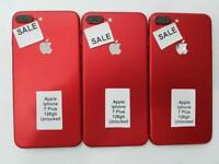 APPLE IPHONE 7 PLUS 128GB RED UNLOCKED BRAND NEW CONDITION