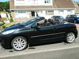 Peugeot 207 Vti Allure convertible