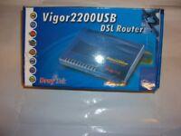 Vigor 2200 usb dsl router