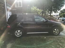 MERCEDES ML270 CDI LOW MILES GOOD CONDITION