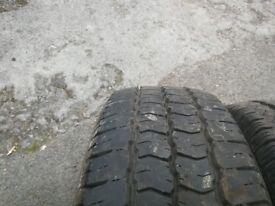 Tyres 225/65 r16c