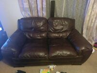 Genuine Leather Sofa - 3 Sater & 2 Seater