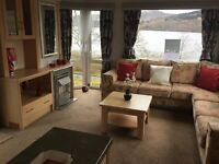 Static holiday home on Loch Fyne