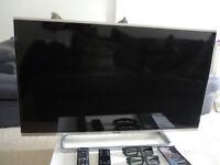 """Panasonic 40"""" Led ( Wifi,Bluetooth, Smart Tv ) 3D Tv"""