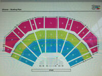 3 seated Roger Waters tickets for 3ARENA, Dublin, Tuesday 26th June 2018