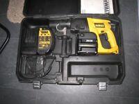 dewalt 24v sds cordless hammer drill