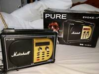 Pure Evoke Marshall DAB radio