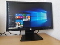 Mint HP 23 inch Full HD LED Monitor 1080p,dvi,vga,display port,Elite Display
