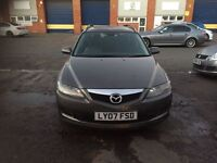 2007 Mazda 6 2.0 diesel estate 12 months mot/3months parts and labour warranty