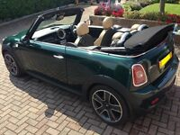 Beautiful Mini Cooper S Convertible Big Specification Rare 184HP Full Leather. Chilli Pack.