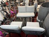 Novaro 4 Piece Garden Sofa Set