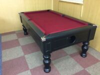 Turned Leg Pool Table (7x4 Slate Bed) **NEW**