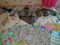 Bundle of girls summer clothes age 3 to 4