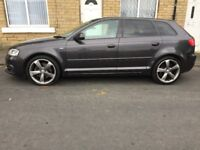 2012 Audi A3 2.0 TDI Black Edition Sportback 5dr Cat C Repaired 80k Miles - LONG MOT BEAUTIFUL DRIVE