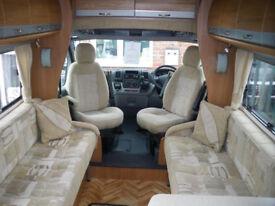 2008 Peugeot Autocruise Starburst Motorhome 2.2 120bhp PAS