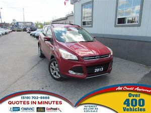 2013 Ford Escape SEL   LEATHER   NAVIGATION   ECO FRIENDLY