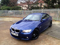 BMW 320 DIESEL GENUINE M SPORTS. FULL LEATHERS. PARKING SENSORS. FULL SERVICE HISTORY.SUPERB DRIVE