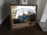 Large southern comfort mirror