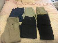 *DESIGNER* men's clothes lots of items! Must see!