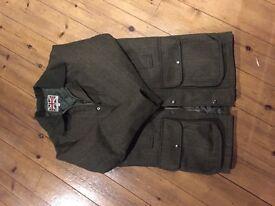 Men's tweed coat size XS