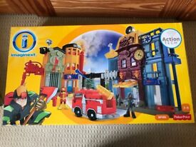 Imaginext action tech city.