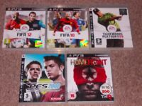 PLAYSTATION 3 GAMES £3 THE LOT
