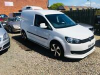 Volkswagen caddy c20 1.6 tdi 61 reg 1 year mot leather seats NO VAT px welcome low miles