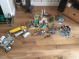 Large Lego collection vintage Lego and new lego