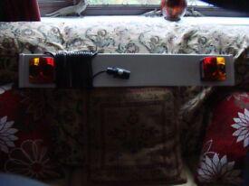 Caravan or trailer tailboard NEW.