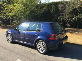 2001 volkswagen golf 1.8 gti turbo 5 doors