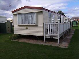 For Sale 35''x 10'' Static Caravan 3 Beds 8 Berth + 32''TV Fridge Washer Freezer Microwave Fee Paid