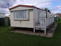 For Sale 35''x 10'' Static Caravan 3 Beds 8 Berth + 32''TV Fridge Washer Freezer Microwave Fee Paid