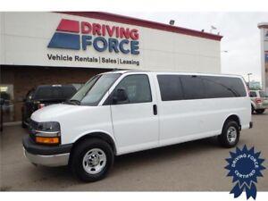 2016 Chevrolet Express 15 Passenger LT, 3.42 Ratio, Remote Start