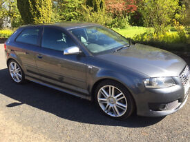 Audi S3 2.0 TFSI Quattro 3d stage 2+ over 300BHP Full milltek exhaust system over £3000 upgrades